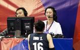 惠若琪現場解說中國女排比賽 朱婷未能上場