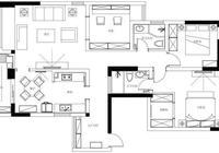 120平米清新簡美風格三居,典雅大氣、清新舒適的格調之家