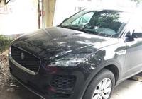 捷豹全新SUV來了,內飾比路虎美,不到30萬買到手