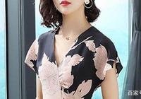 只有70後女人才能穿的氣質美裙,配矮高跟,穿出40歲專屬的美