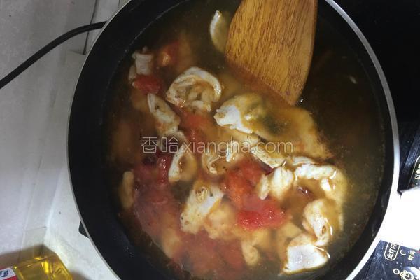 西紅柿燉魚片