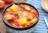 番茄燉牛腩這樣做酸酸甜甜,好吃到連湯汁都喝光!