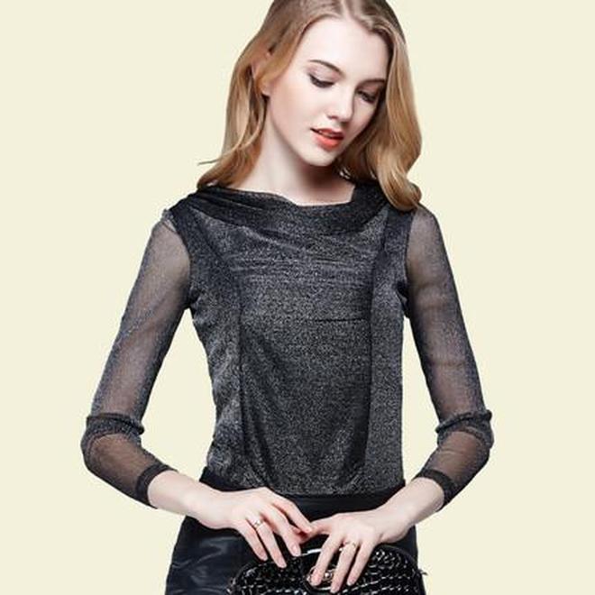 專屬30+女人的氣質雪紡衫,簡潔幹練又洋氣,遮擋水桶腰巨時髦