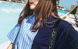 40歲女人看過來,繫帶襯衫除了少女心,還有九種風格