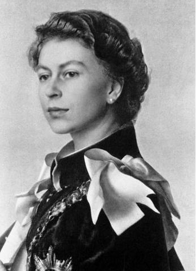 英國女王伊麗莎白二世經典照片