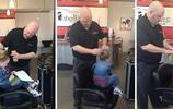 外國單親爸爸成髮型高手,只因為不想女兒在學校裡被人嘲笑