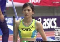 她是日本跳高運動員,雖然實力一般但靠顏值撐起一片天!