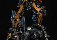 DAMTOYS 經典系列《變形金剛5:最後的騎士》23寸大黃蜂精緻雕像