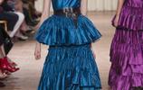 Alberta Ferretti時裝系列雪紡和皮革融為一體合力創造出的生動