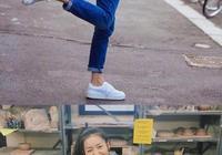 中國超模第一人是她,街拍女神,拍照擺動作全靠她了