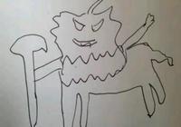 小學生手繪LOL英雄,老師看後表示不認識,你能認出來嗎?
