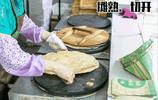 舌尖上的二妮菜煎餅,金黃酥脆第一口就驚豔了,時光沉澱的老味道