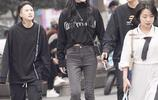 長得好看,穿搭還時尚的女孩,也只有成都街頭能看見了!