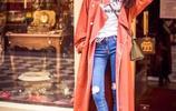 模特出身的她憑藉《偽裝者》大火!如今穿大衣被贊行走的衣架!