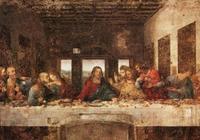 他致敬達芬奇畫《最後的晚餐》,沒冷軍《小雯》逼真,卻高7千萬