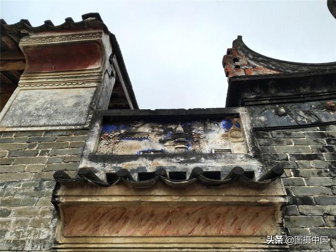 廣東羅定經典九座屋,船步藍村九座屋,快要消失的風光