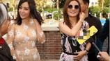 41歲趙薇和38歲郝蕾,同是微胖美人,可是一對比差距就出來了!