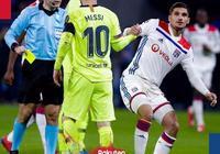 歐冠:蘇牙中門框梅西盡力,巴薩0-0客平里昂