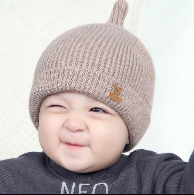 """哎呀!心被你們萌化了,新上市幾款""""嬰兒帽"""",保暖又呆萌"""