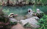 寧波五龍潭,水很清澈,給人清新舒適之感