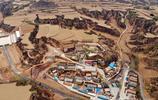 用無人機航拍黃土高原 發現一座劉少奇住過的小山村 有一條地道