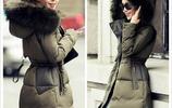 中長款毛領羽絨服是寒冷冬季的好幫手,時尚版型更顯俏皮可愛