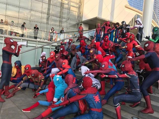 每日神段子丨去漫展看看就知道有多少蜘蛛俠了,年底衝業績嗎?
