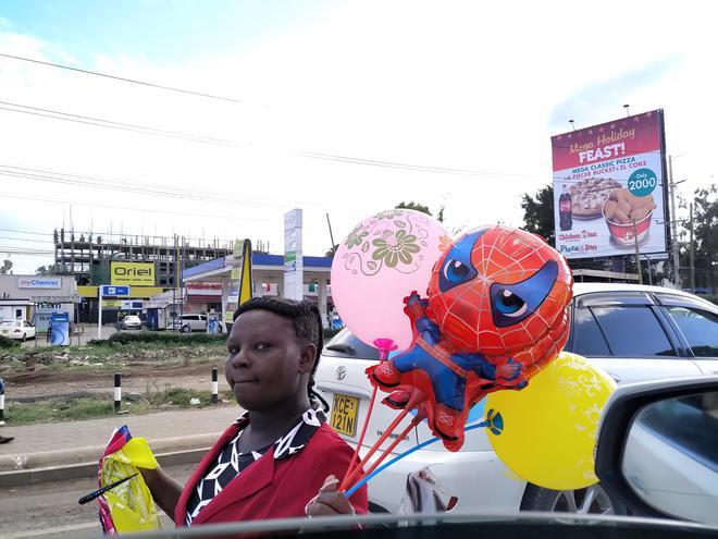 1月恐怖襲擊發生之前,肯尼亞街頭影像