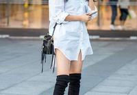 知性又少女,白襯衫也能穿出高級感,素顏美得出眾