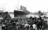 泰坦尼克號的罕見照片