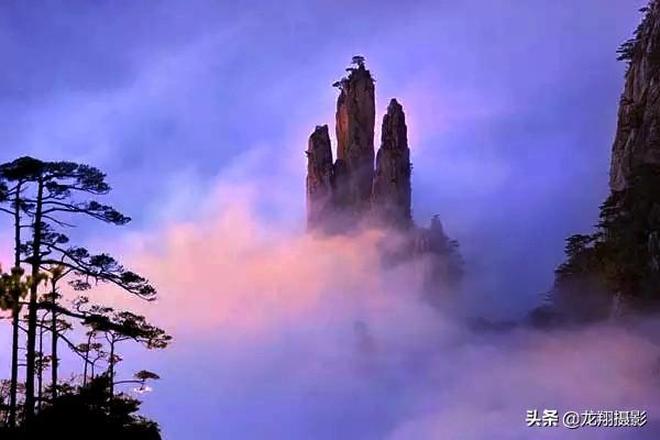 黃山是安徽旅遊的標誌,是中國十大風景名勝唯一的山嶽風光!