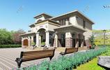 回鄉建一棟這樣的2層歐式別墅,花50萬住上千萬豪宅,家人都高興