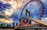天津之眼一遊,一座建在橋上的摩天輪,讓幸福飄溢