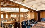 1912年豪華的泰坦尼克號船艙,電影忠實地進行了還原