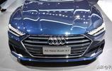 最美奧迪車——全新A7,2018廣州車展實拍奧迪新車