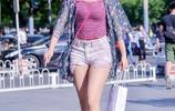 街拍重慶:有氣場的時尚穿搭,讓你美的像女王!