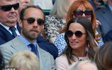 凱特王妃32歲親弟弟西裝革履留大鬍子 與二姐同框有說有笑感情深