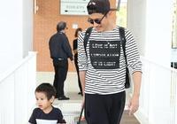 耿樂抵達威尼斯機場 兩歲兒子首度曝光