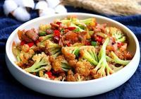 幹鍋花菜:幹香入味,脆爽下飯,真的太好吃了