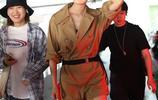 王紫璇穿工裝褲單手插兜變酷girl,架黑超為粉絲簽名親和有魅力