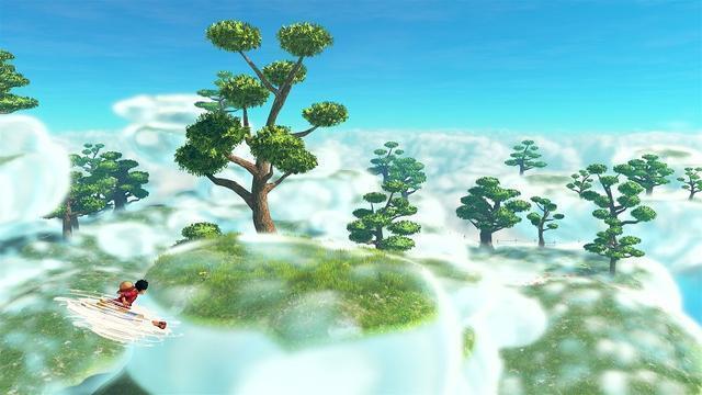 雲霧繚繞空島登場《海賊王:世界尋求者》新舞臺羅參戰