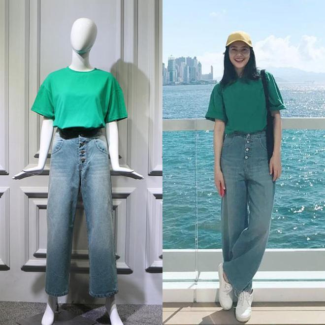 "T恤+闊腿褲,才是今夏最火的穿搭""套路"""