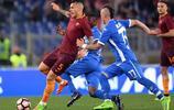 足球——意甲:羅馬勝恩波利