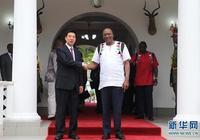 王勇會見肯尼亞總統肯雅塔