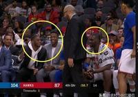 尼克斯結束18連敗,替補席笑成一片,鏡頭給到兩邊教練,誰贏了?