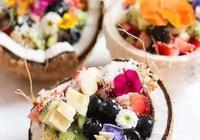 椰子碗,芋泥奶茶,牛排奶茶,奶茶的花樣還有多少