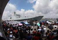 歡迎回家!海軍第31批護航編隊抵達湛江軍港