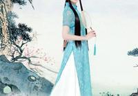 古典古裝漢服襦裙中國風復古盤口連衣裙唯美攝影清純長髮女神寫真