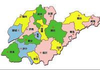 山東省清朝地圖,十府兩州,你的老家屬於哪?