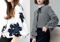 """新上的""""雪紡""""小衫,搭配半身裙,吸睛又減齡,美得不可方物"""